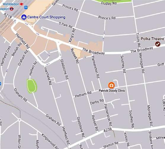 Sexual health clinic london near me map