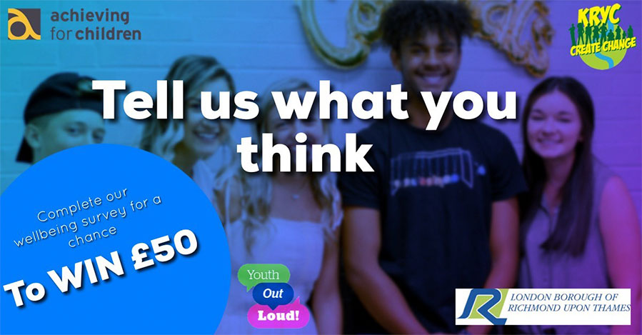 Tell us what you think for a chance to win £50